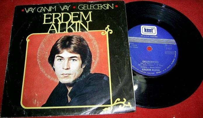 Erdem Alkın, Vay canım vay - Geleceksin (1977) plak kapağı