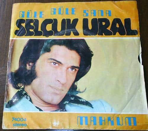 Selçuk Ural - Güle güle sana - Mahkum (1974) plak kapağı