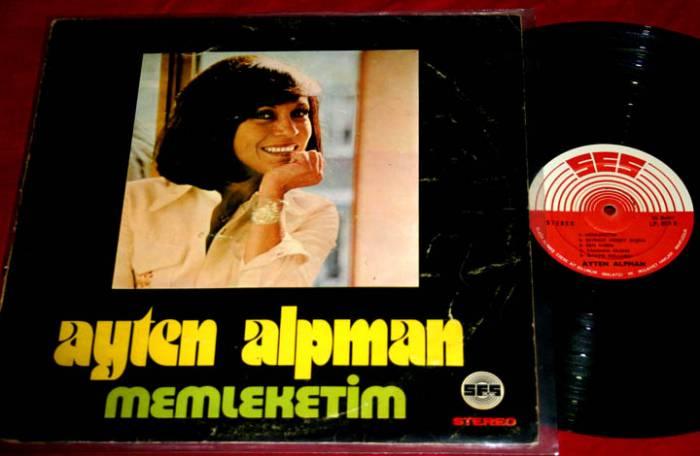 Ayten Alpman, Memleketim / Unutsana (1973) plağı