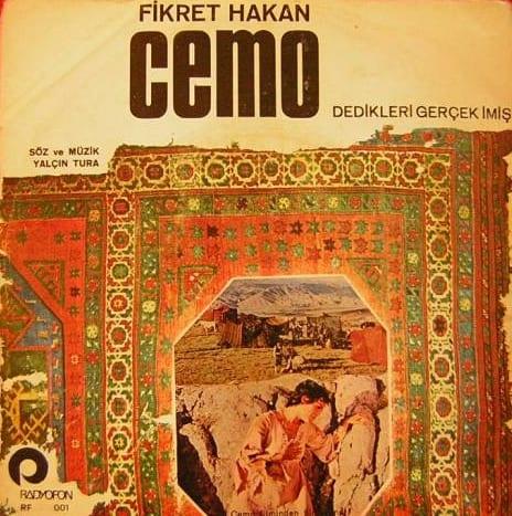 Fikret Hakan, Cemo - Dedikleri gerçek imiş (1972) plak kapağı