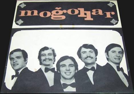 Moğollar, Dağ ve çocuk - İmece (1970) plak kapağı