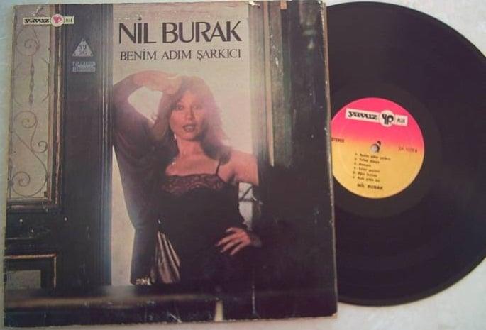Nil Burak - Benim adım şarkıcı - LP - 1979 - Ön Kapak