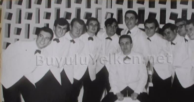 Okyay ve Deniz Harp Okulu Orkestrası - Toplu Fotoğraf - Yıl 1965